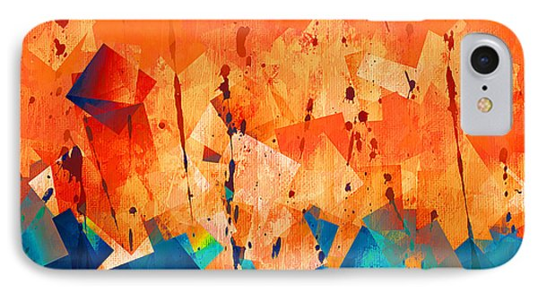 Gathering Of The Squares 3 IPhone Case
