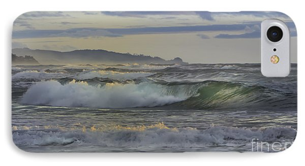 Gazing At The Ocean Surf IPhone Case