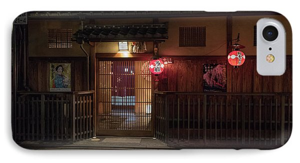 Geisha Tea House, Gion, Kyoto, Japan IPhone Case
