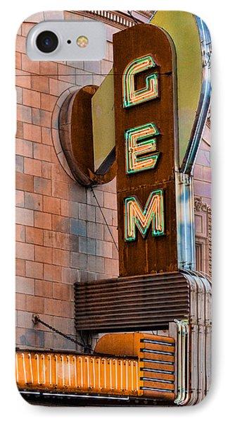 Gem Theater In Kansas City IPhone Case
