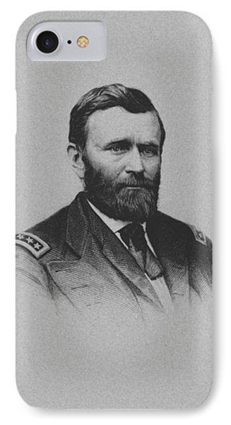 General Ulysses Grant And His Signature IPhone Case
