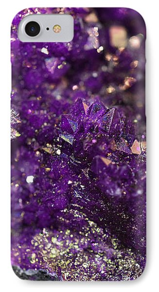 Geode Abstract Amethyst IPhone Case
