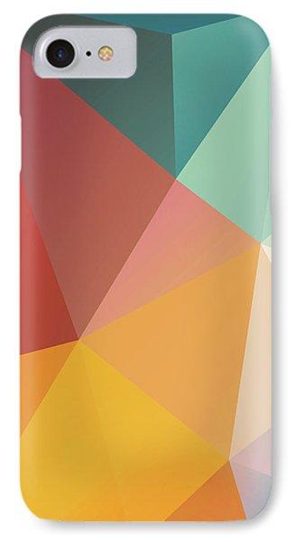 iPhone 8 Case - Geometric Xxix by Ultra Pop
