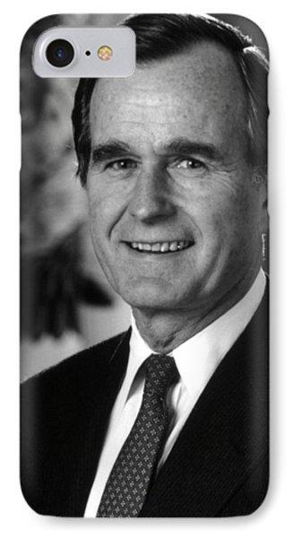 George Bush Sr IPhone Case
