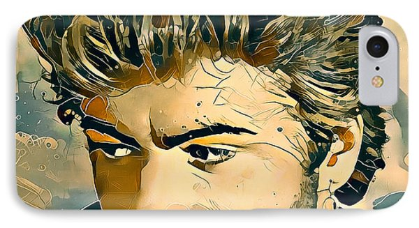 Tribute iPhone 8 Case - George Michael Tribute 7 by Yury Malkov