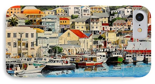 Georgetown Harbor, Grenada IPhone Case