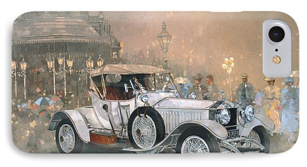 Car iPhone 8 Case - Ghost In Scarborough  by Peter Miller