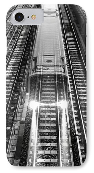 IPhone Case featuring the photograph Ghost Train Vienna by Chris Feichtner