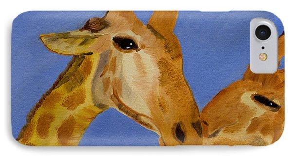 Giraffe Bonding IPhone Case