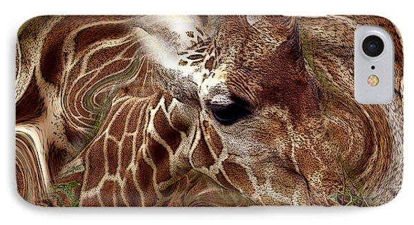 Giraffe Dreams No. 1 IPhone Case