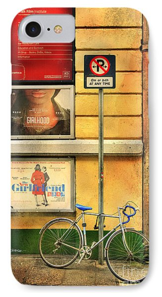Girlfriend Bicycle IPhone Case