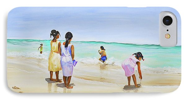 Girls On The Beach IPhone Case