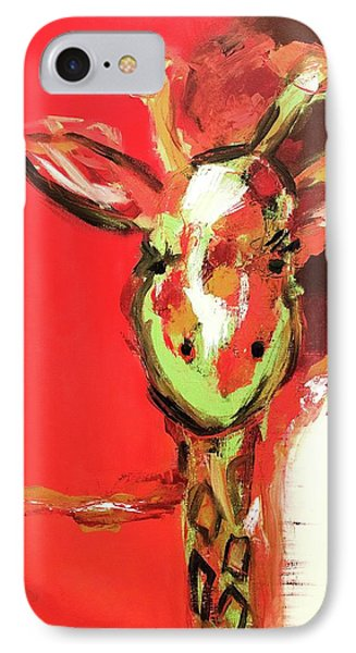 Giselle The Giraffe IPhone Case