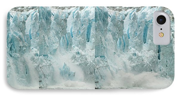 Glacier Calving Sequence 2 V2 IPhone Case