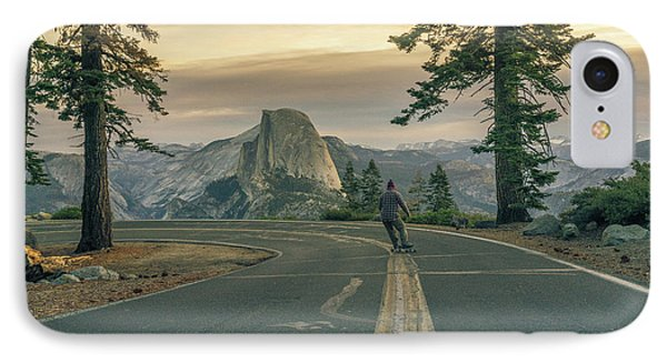 Glacier Point Adventure IPhone Case