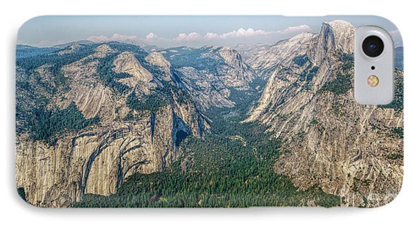 Glacier Point Yosemite Np IPhone Case