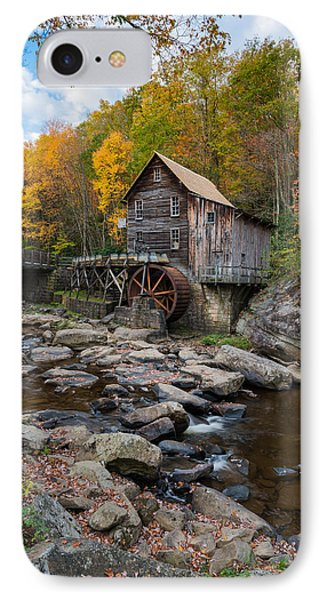 Glade Creek Grist Mill Babcock State Park IPhone Case