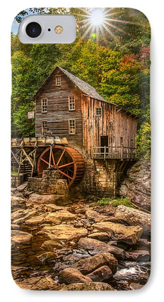 Glade Creek Mill Fall IPhone Case