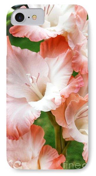 Gladiolus Ruffles  IPhone Case