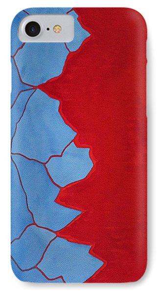 Glitch In The Matrix Original Painting IPhone Case
