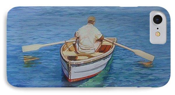 Gloucester Harbor Fisherman IPhone Case