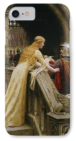 Castle iPhone 8 Case - God Speed by Edmund Blair Leighton