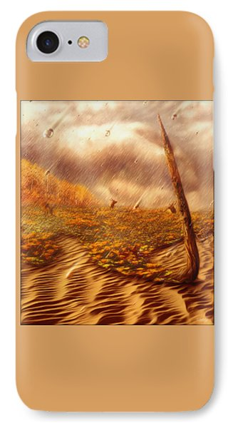 Gods Hand Painting With Life IPhone Case
