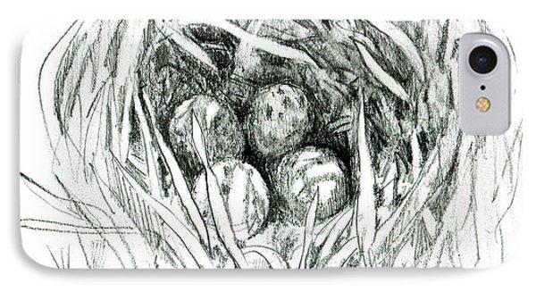 Godwit Nest IPhone Case