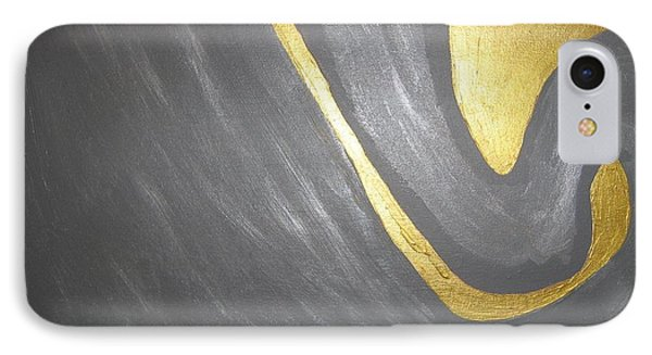 Gold And Gray IPhone Case