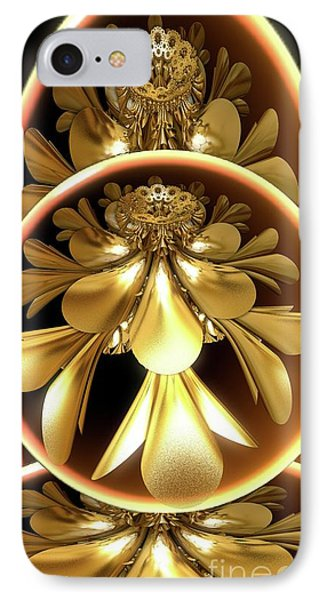 Gold Lacquer IPhone Case