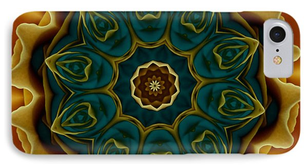 Gold Rose Mandala IPhone Case