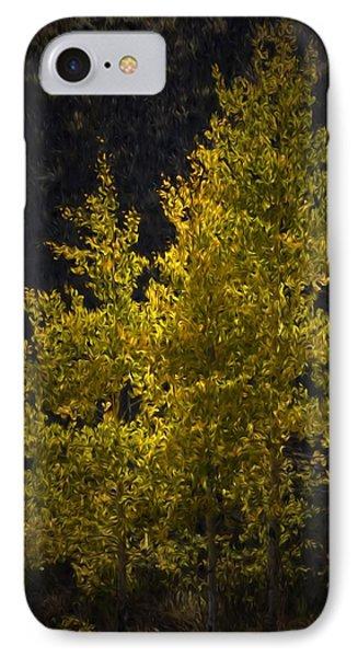 Golden Aspen IPhone Case