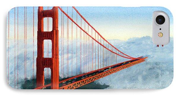 Golden Gate Bridge Sunset IPhone Case