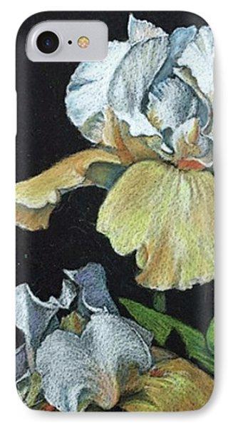 Golden Iris IPhone Case