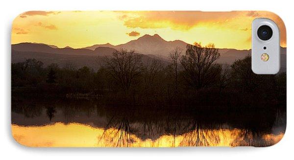 Golden Ponds Longmont Colorado IPhone Case