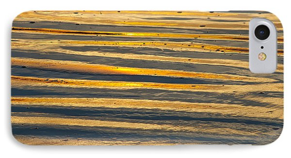 Golden Sand On Beach IPhone Case