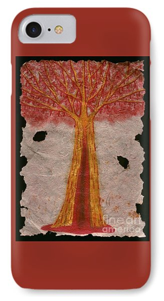 Golden Trees Crying Tears Of Blood IPhone Case