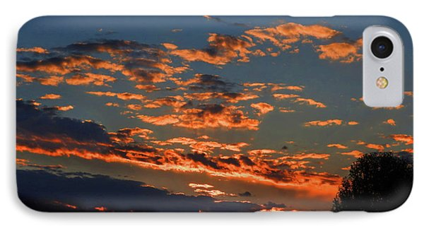 IPhone Case featuring the photograph Goldflake Sunset by Mark Blauhoefer