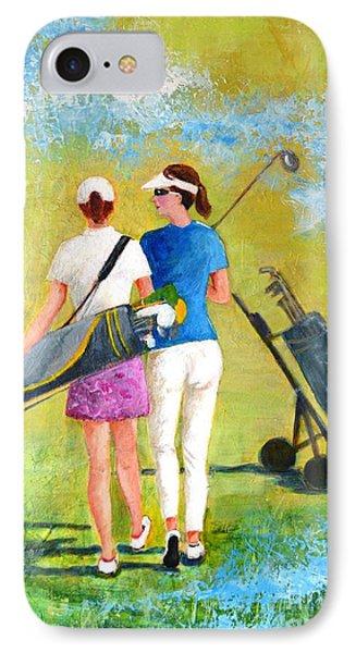 Golf Buddies #1 IPhone Case
