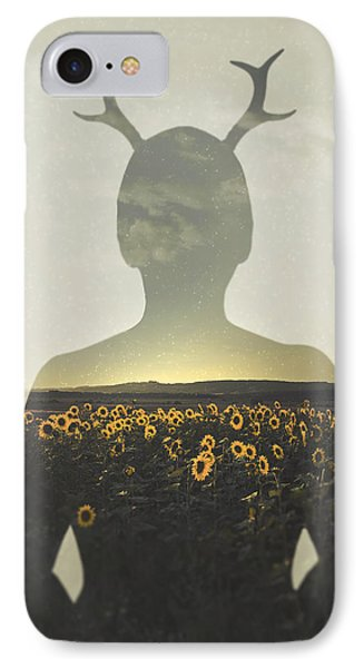 Sunflower iPhone 8 Case - Goodbye Summer by Art of Invi