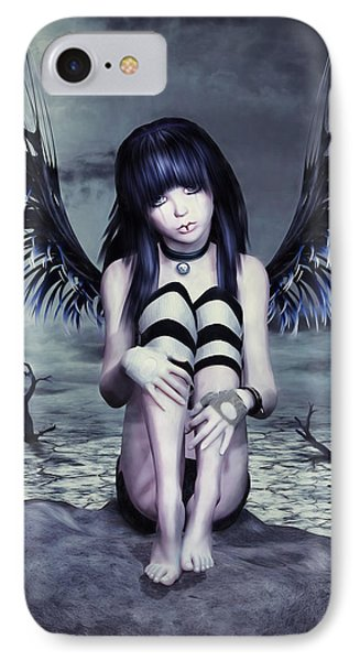 Goth Fairy IPhone Case