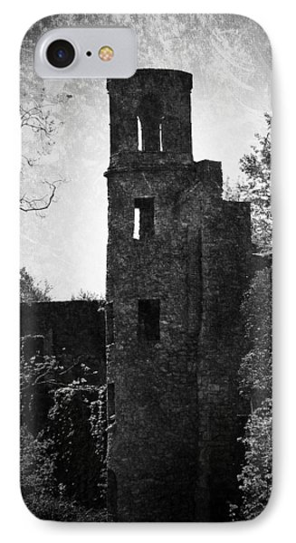 Gothic Tower At Blarney Castle Ireland IPhone Case