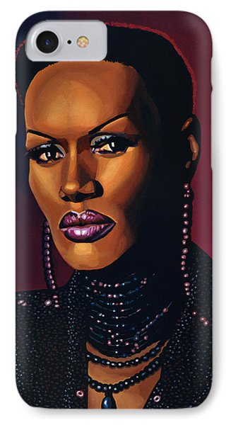 Grace Jones IPhone Case