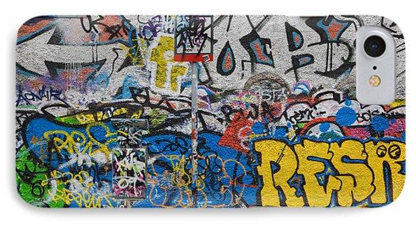 Grafitti On The U2 Wall, Windmill Lane IPhone Case