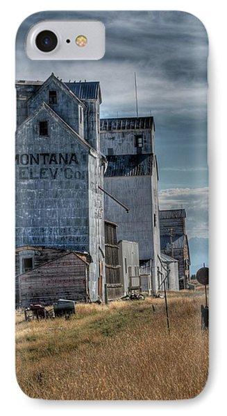 Grain Elevators, Wilsall IPhone Case