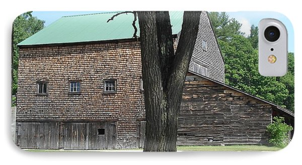 Grammie's Barn Through The Trees IPhone Case