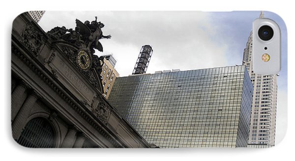 Grand Central And The Chrysler Building IPhone Case
