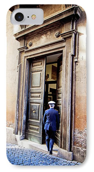 Grand Entrance - Rome, Italy IPhone Case