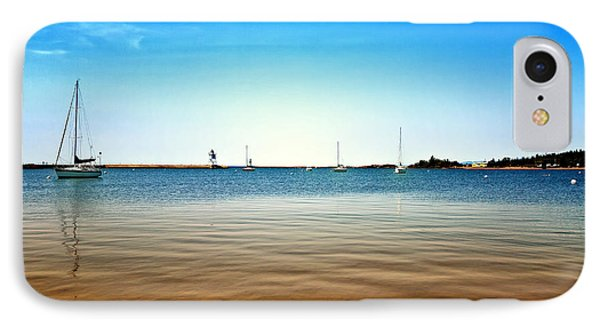 Grand Marais Harbor IPhone Case