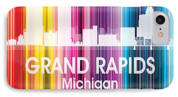 Grand Rapids Mi 2 Squared IPhone Case